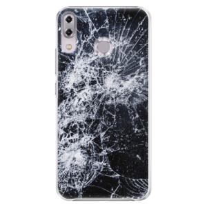 Plastové pouzdro iSaprio Praskliny na mobil Asus ZenFone 5Z ZS620KL