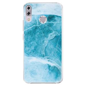 Plastové pouzdro iSaprio Blue Marble na mobil Asus ZenFone 5Z ZS620KL