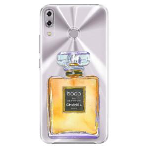 Plastové pouzdro iSaprio Chanel Gold na mobil Asus ZenFone 5Z ZS620KL