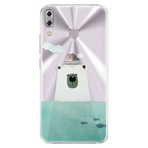 Plastové pouzdro iSaprio Medvěd s Lodí na mobil Asus ZenFone 5Z ZS620KL