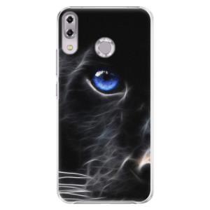 Plastové pouzdro iSaprio Black Puma na mobil Asus ZenFone 5Z ZS620KL