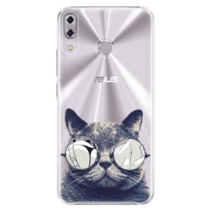 Plastové pouzdro iSaprio Šílená Číča 01 na mobil Asus ZenFone 5Z ZS620KL