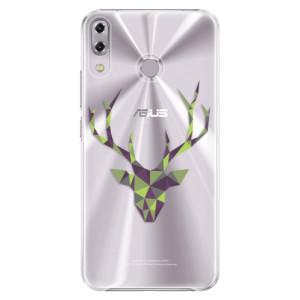 Plastové pouzdro iSaprio Zelený Jelínek na mobil Asus ZenFone 5Z ZS620KL