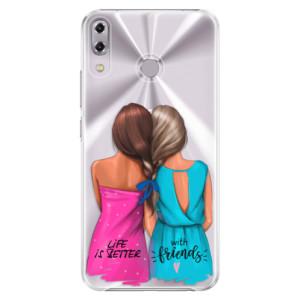 Plastové pouzdro iSaprio Best Friends na mobil Asus ZenFone 5Z ZS620KL
