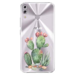 Plastové pouzdro iSaprio Kaktusy 01 na mobil Asus ZenFone 5Z ZS620KL