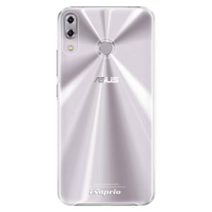 Plastové pouzdro iSaprio 4Pure mléčné bez potisku na mobil Asus ZenFone 5Z ZS620KL
