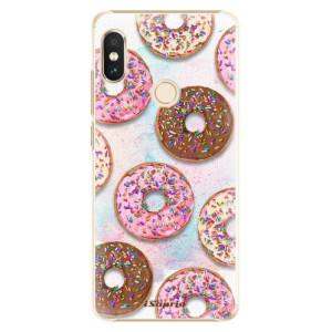Plastové pouzdro iSaprio Donutky Všude 11 na mobil Xiaomi Redmi Note 5