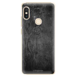 Plastové pouzdro iSaprio Black Wood 13 na mobil Xiaomi Redmi Note 5