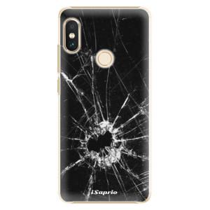 Plastové pouzdro iSaprio Broken Glass 10 na mobil Xiaomi Redmi Note 5