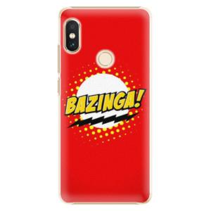Plastové pouzdro iSaprio Bazinga 01 na mobil Xiaomi Redmi Note 5