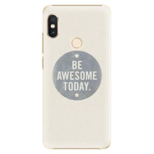Plastové pouzdro iSaprio Awesome 02 na mobil Xiaomi Redmi Note 5