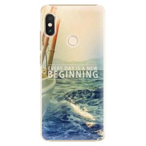 Plastové pouzdro iSaprio Beginning na mobil Xiaomi Redmi Note 5