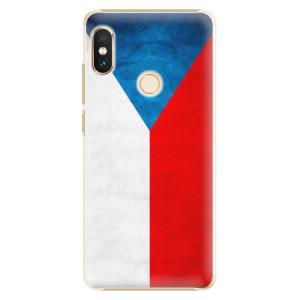 Plastové pouzdro iSaprio Česká Vlajka na mobil Xiaomi Redmi Note 5