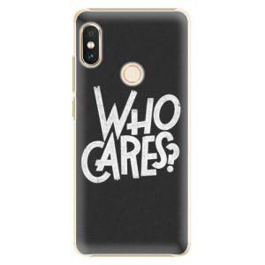 Plastové pouzdro iSaprio Who Cares na mobil Xiaomi Redmi Note 5