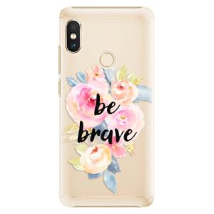 Plastové pouzdro iSaprio Be Brave na mobil Xiaomi Redmi Note 5