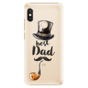 Plastové pouzdro iSaprio Best Dad na mobil Xiaomi Redmi Note 5