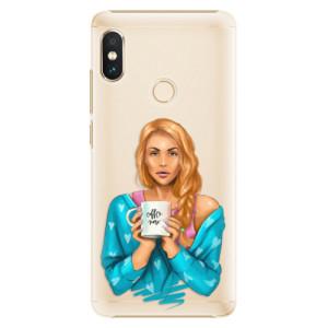 Plastové pouzdro iSaprio Coffee Now Zrzka na mobil Xiaomi Redmi Note 5