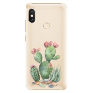 Plastové pouzdro iSaprio Kaktusy 01 na mobil Xiaomi Redmi Note 5