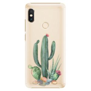 Plastové pouzdro iSaprio Kaktusy 02 na mobil Xiaomi Redmi Note 5