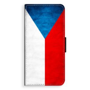 Flipové pouzdro iSaprio Česká Vlajka na mobil Huawei P20 Pro