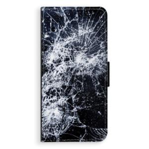 Flipové pouzdro iSaprio Praskliny na mobil Huawei P20 Pro