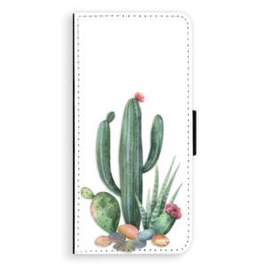 Flipové pouzdro iSaprio Kaktusy 02 na mobil Huawei P20 Pro