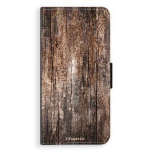 Flipové pouzdro iSaprio Dřevo 11 na mobil Huawei P20