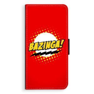 Flipové pouzdro iSaprio Bazinga 01 na mobil Huawei P20