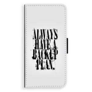 Flipové pouzdro iSaprio Backup Plan na mobil Huawei P20