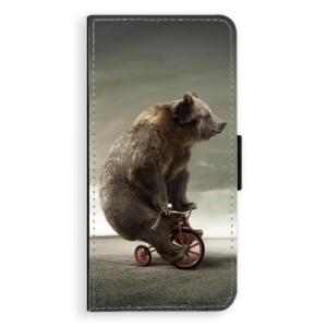 Flipové pouzdro iSaprio Medvěd 01 na mobil Huawei P20