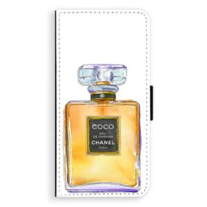 Flipové pouzdro iSaprio Chanel Gold na mobil Huawei P20