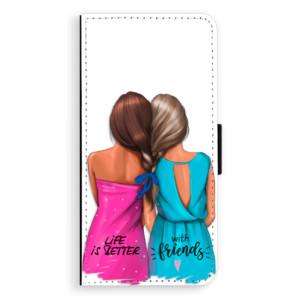 Flipové pouzdro iSaprio Best Friends na mobil Huawei P20