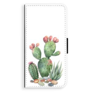 Flipové pouzdro iSaprio Kaktusy 01 na mobil Huawei P20