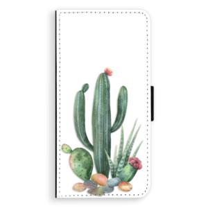 Flipové pouzdro iSaprio Kaktusy 02 na mobil Huawei P20
