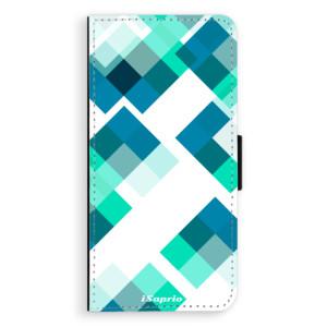 Flipové pouzdro iSaprio Abstract Squares 11 na mobil Samsung Galaxy S9