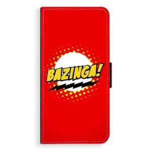 Flipové pouzdro iSaprio Bazinga 01 na mobil Samsung Galaxy S9