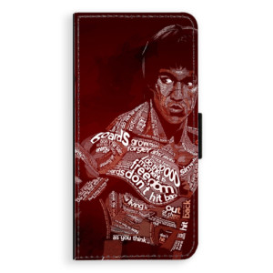 Flipové pouzdro iSaprio Bruce Lee na mobil Samsung Galaxy S9