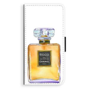 Flipové pouzdro iSaprio Chanel Gold na mobil Samsung Galaxy S9
