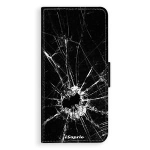 Flipové pouzdro iSaprio Broken Glass 10 na mobil Samsung Galaxy S9 Plus