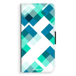 Flipové pouzdro iSaprio Abstract Squares 11 na mobil Samsung Galaxy S9 Plus