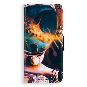 Flipové pouzdro iSaprio Astronaut 01 na mobil Samsung Galaxy S9 Plus