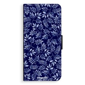 Flipové pouzdro iSaprio Blue Leaves 05 na mobil Samsung Galaxy S9 Plus