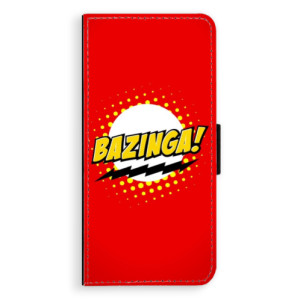 Flipové pouzdro iSaprio Bazinga 01 na mobil Samsung Galaxy S9 Plus