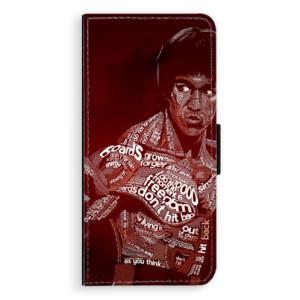 Flipové pouzdro iSaprio Bruce Lee na mobil Samsung Galaxy S9 Plus