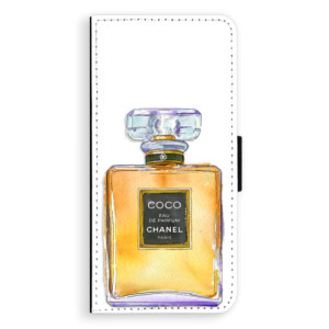 Flipové pouzdro iSaprio Chanel Gold na mobil Samsung Galaxy S9 Plus
