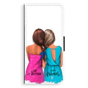 Flipové pouzdro iSaprio Best Friends na mobil Samsung Galaxy S9 Plus