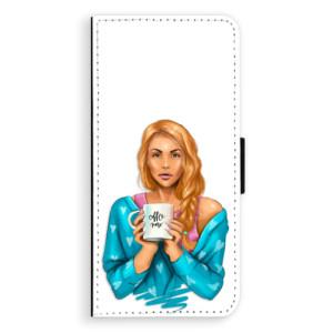 Flipové pouzdro iSaprio Coffee Now Zrzka na mobil Samsung Galaxy S9 Plus