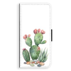 Flipové pouzdro iSaprio Kaktusy 01 na mobil Samsung Galaxy S9 Plus