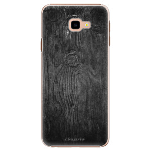 Plastové pouzdro iSaprio Black Wood 13 na mobil Samsung Galaxy J4 Plus