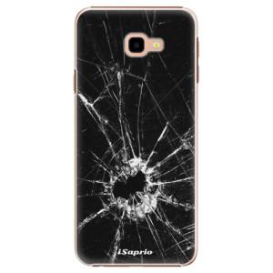 Plastové pouzdro iSaprio Broken Glass 10 na mobil Samsung Galaxy J4 Plus
